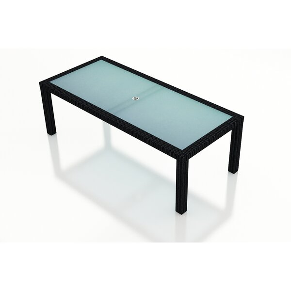 Urbana 6-Seater Wicker Dining Table by Harmonia Living