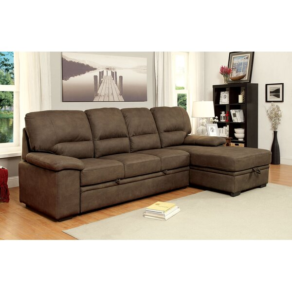 Karratha Sleeper Sectional by Alcott Hill