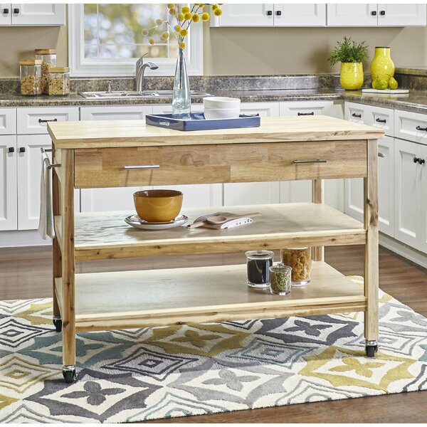Woodrum Kitchen Cart by Millwood Pines