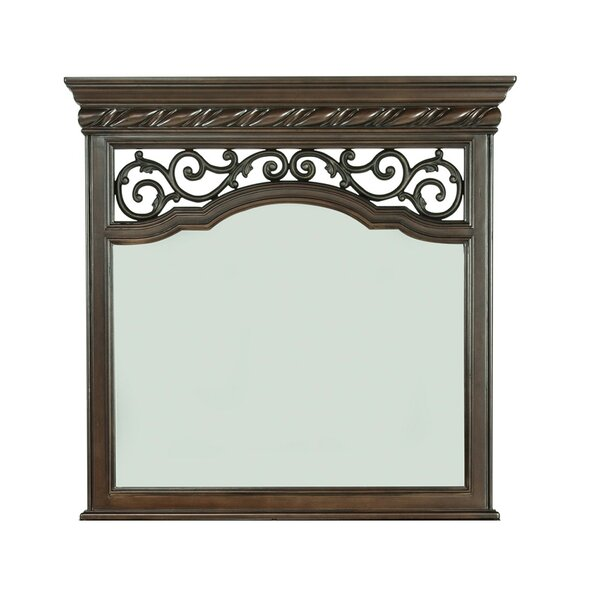 Kate Rectangular Mirror by Astoria Grand