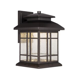 Low priced Piedmont 1-Light Outdoor Wall Lantern By Designers Fountain