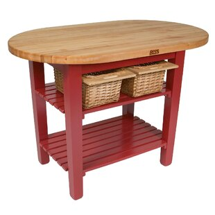 Chopping Table Kitchen Butcher block island counter tops youll love wayfair eliptical c table kitchen island with butcher block top workwithnaturefo