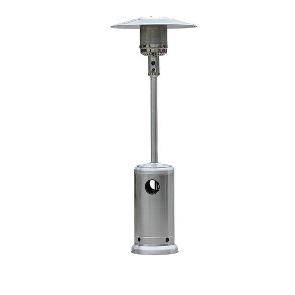 Stainless Steel Standing Patio Heater by HomComfort