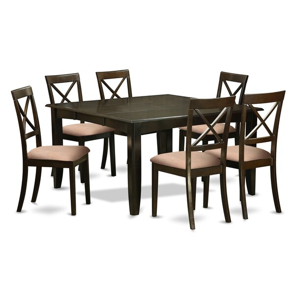 Pilning 7 Piece Dining Set by August Grove