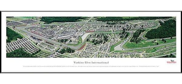 NASCAR Raceway Standard Framed Photographic Print by Blakeway Worldwide Panoramas, Inc