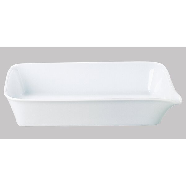 Five Senses White 14.5 Baking Dish by KAHLA