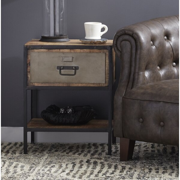 Gurley End Table with Storage by Gracie Oaks