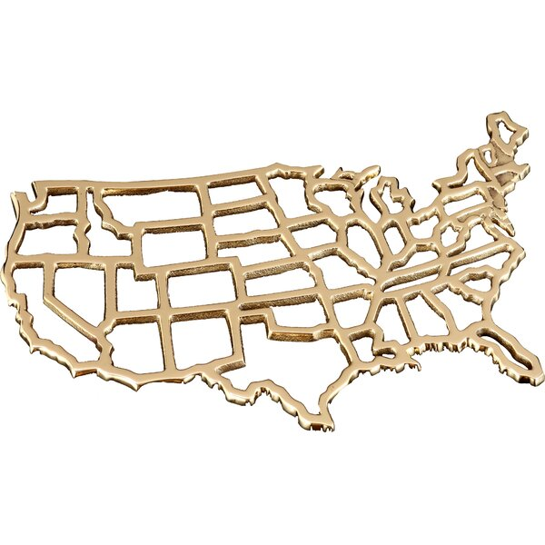 United States Trivet by Fashion N You by Horizon Interseas