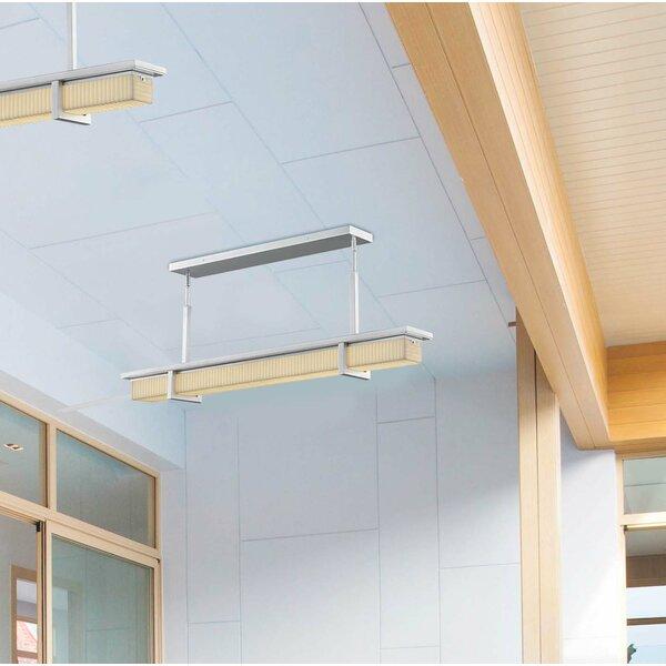 Leiva Linear 1-Light LED Outdoor Chandelier W000378506
