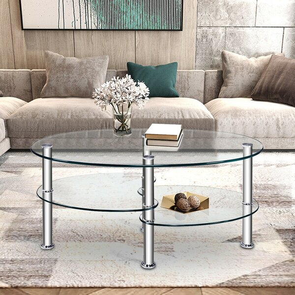 Seyyal Bunching Table With Storage By Orren Ellis