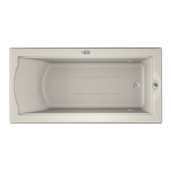 Fuzion Chroma LCD Right-Hand 72 x 36 Drop-In Pure Air Bathtub by Jacuzzi®