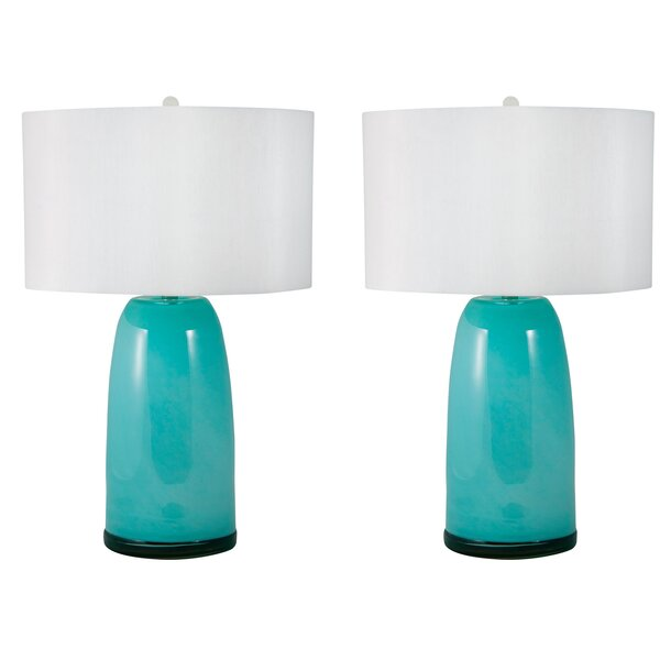 Eddleman Blown 28 Table Lamp (Set of 2) by Brayden Studio
