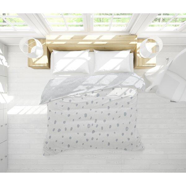 Ebern Designs Afreena Small Dots Single Reversible Comforter Wayfair