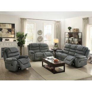 Sumpter Motion 3 Piece Living Room Set