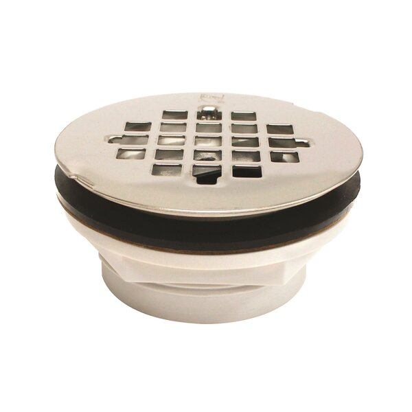 2 Grid Shower Drain by Keeney Manufacturing Company