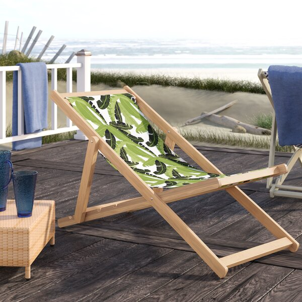 Shadai Cabana Reclining Beach Chair by Bayou Breeze Bayou Breeze
