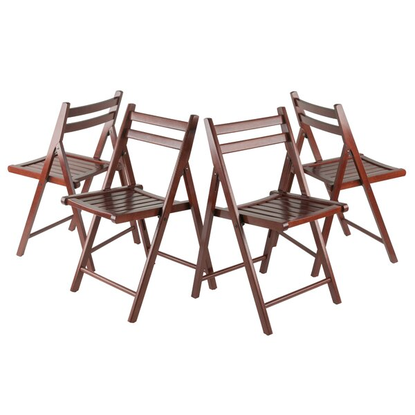 Robin Folding Chair (Set of 4) by Winsome