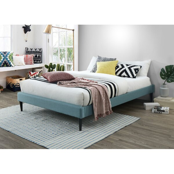 Stehle Fabric Upholstered Platform Bed by Ebern Designs