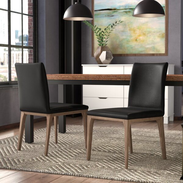 Dimartino Upholstered Dining Chair (Set of 2) by Brayden Studio