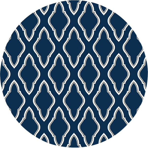 Fallon Blue/Ivory Area Rug by Jill Rosenwald Home
