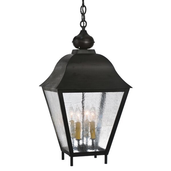 4 - Light Lantern Square Chandelier by Meyda Tiffany Meyda Tiffany