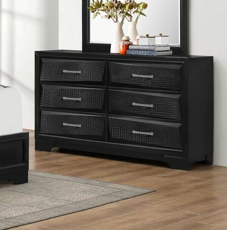Oona 6 Drawer Double Dresser by Wrought Studio