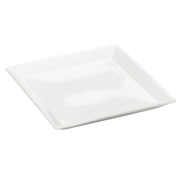 Squared 11 Square Porcelain Platter by Cal-Mil