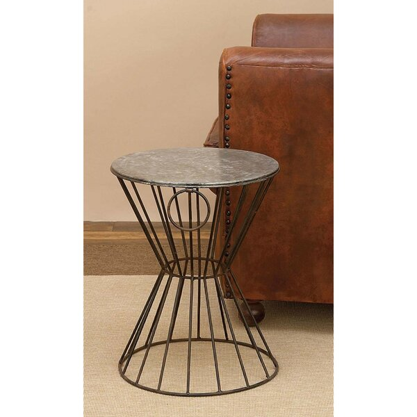 Metal Accent Stool by Cole & Grey