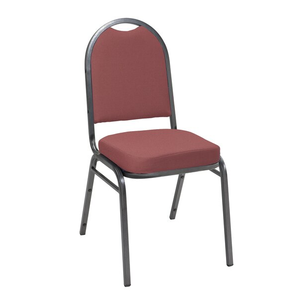 Dome Back Banquet Chair with Cushion by KFI Seating