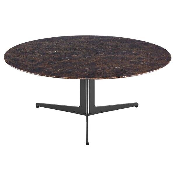 Bambu Pedestal Coffee Table By Brayden Studio