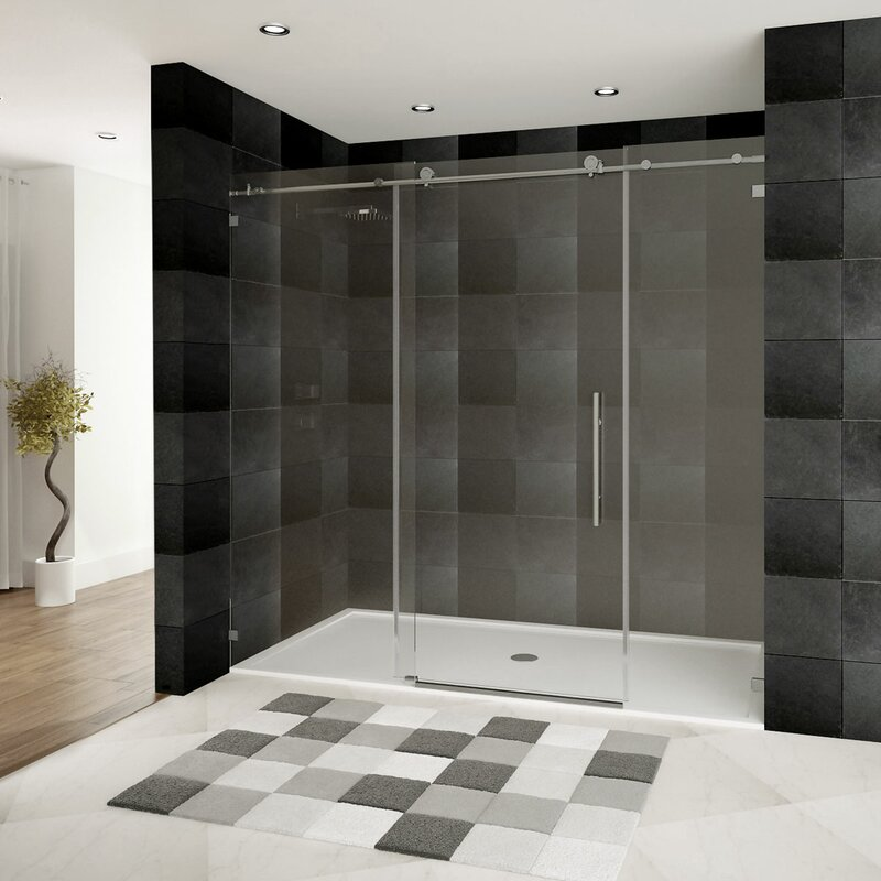 Lesscare Ultra C 72 X 76 Single Sliding Shower Door