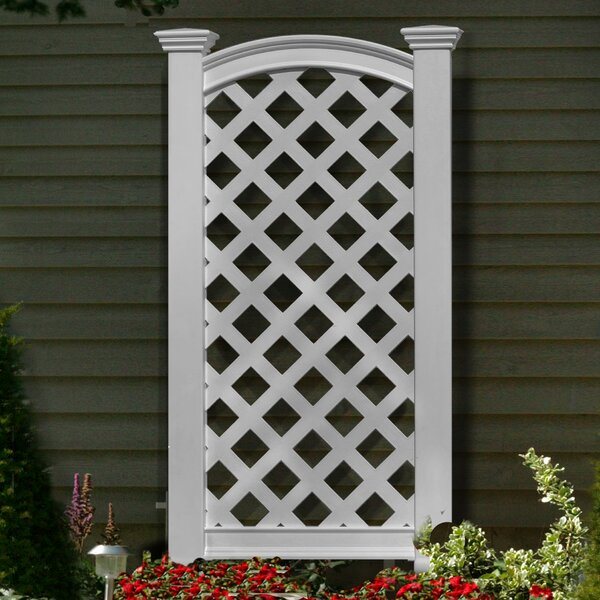 Luxembourg Vinyl Lattice Panel Trellis by New England Arbors