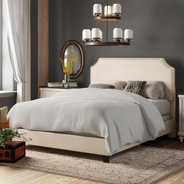 Cassandra Upholstered Standard Bed by Birch Lane™ Heritage