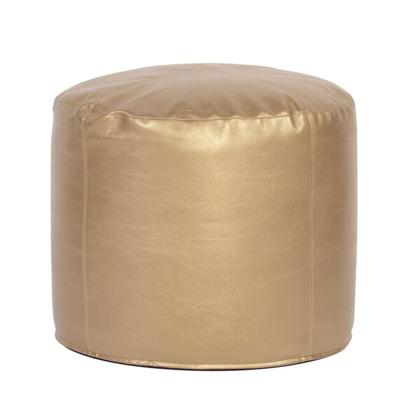Ashworth Shimmer Pouf By Everly Quinn New Design