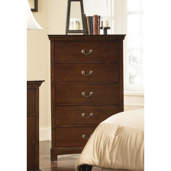 Mikels 5 Drawer Chest by Alcott Hill