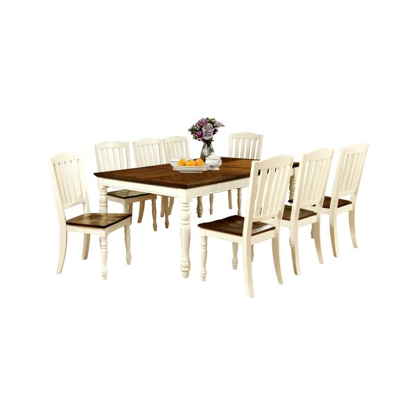 Laureus 9 Piece Extendable Dining Set by Hokku Designs