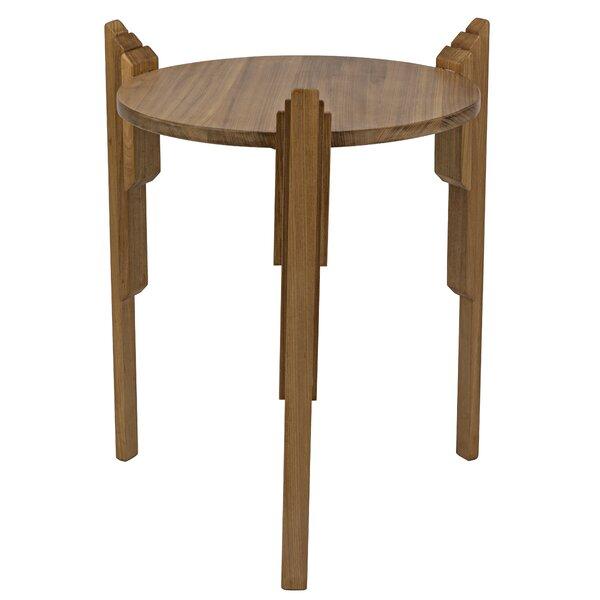 Gerutti End Table by Noir Noir