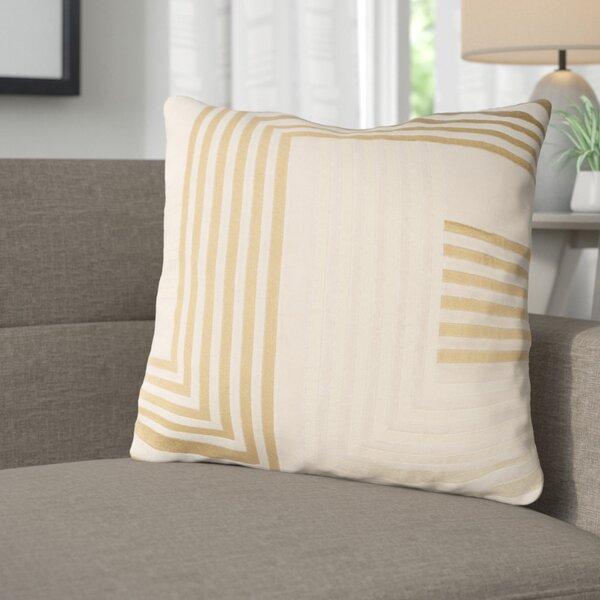 Sandrine Cotton Throw Pillow by Corrigan Studio