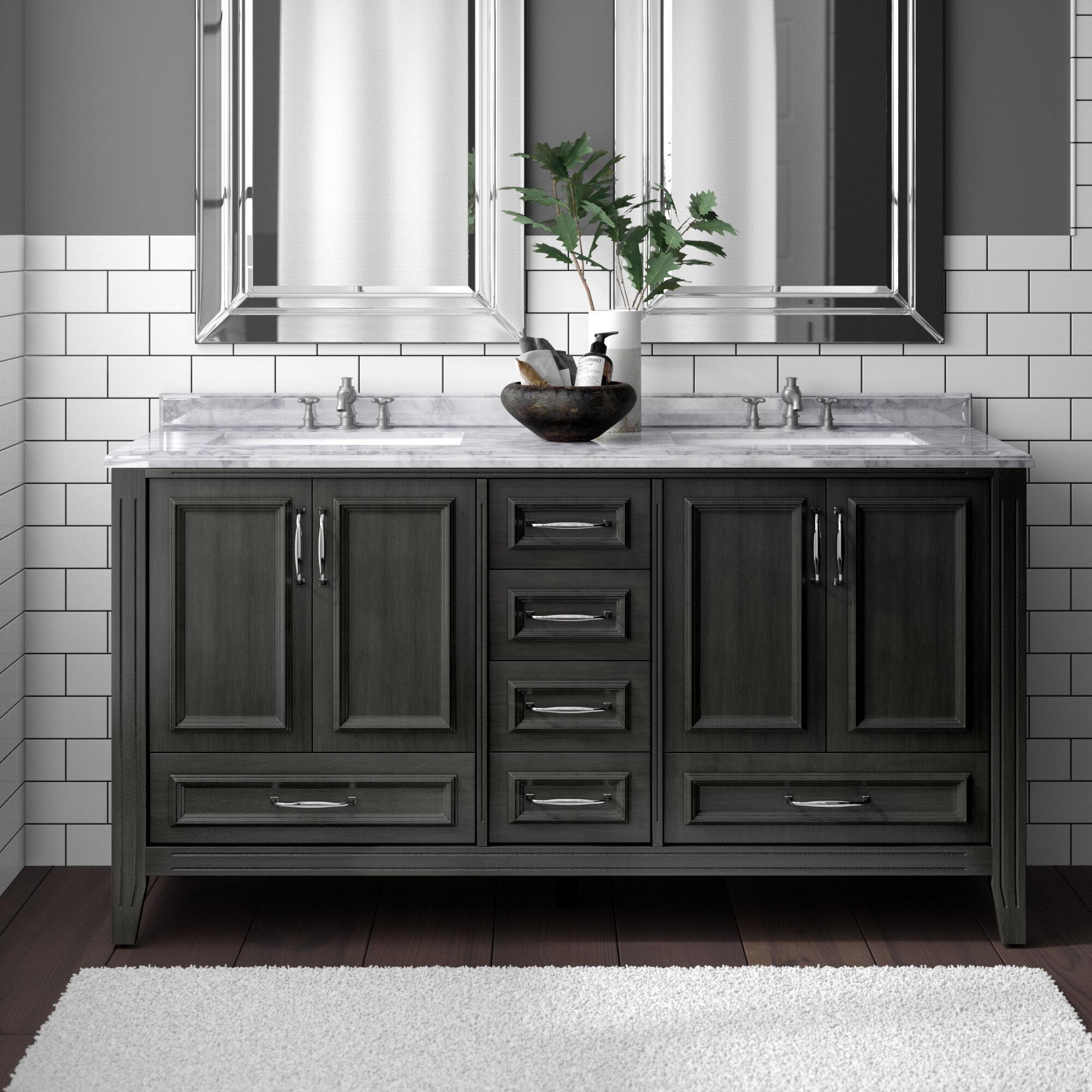 Schulenburg 60 Double Bathroom Vanity