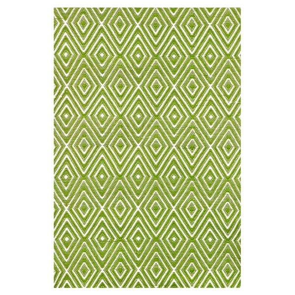 Hand Woven Green Indoor/Outdoor Area Rug by Dash and Albert Rugs