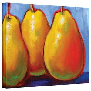 Gang of Pears Painting Print on Canvas by August Grove