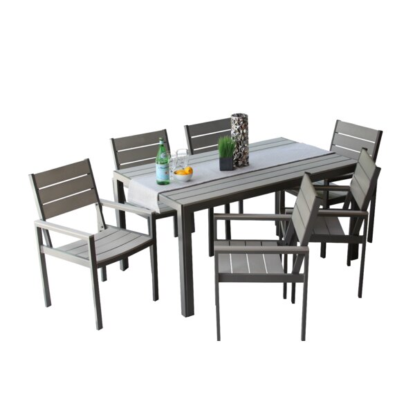 Narvaez 7 Piece Dining Set by Latitude Run