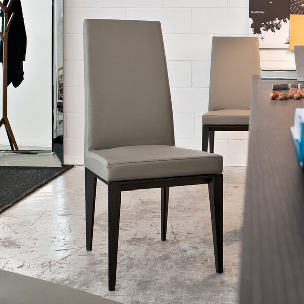 Bess Upholstered Parsons Chair by Calligaris Calligaris