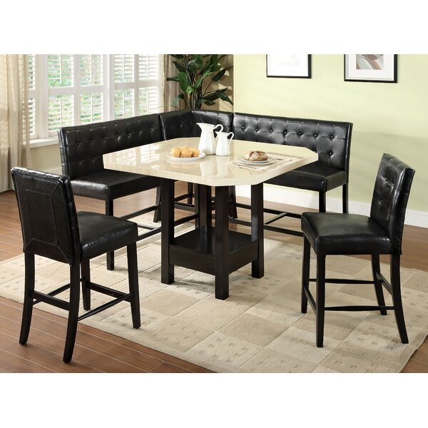 Delicia 6 Piece Dining Set by Latitude Run