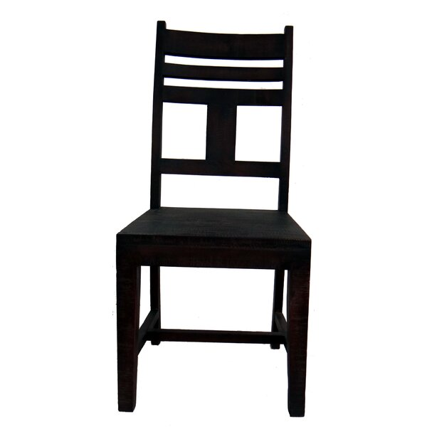 Milan Solid Wood Dining Chair by Millwood Pines