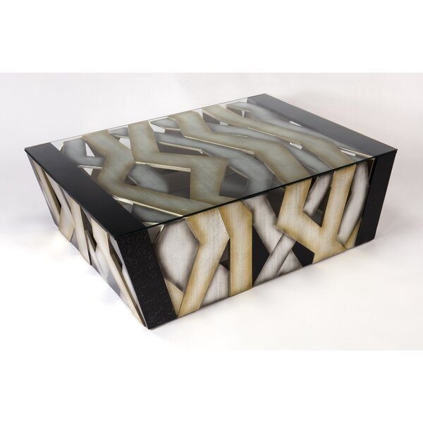 Glass Coffee Table by Artmax