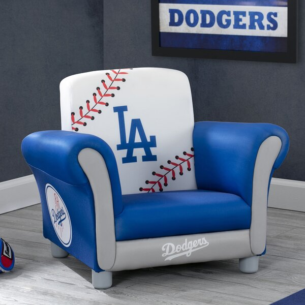 MLB Los Angeles Dodgers Kids Chair by Delta Children