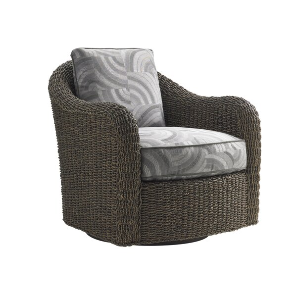 Oyster Bay Swivel Armchair by Lexington