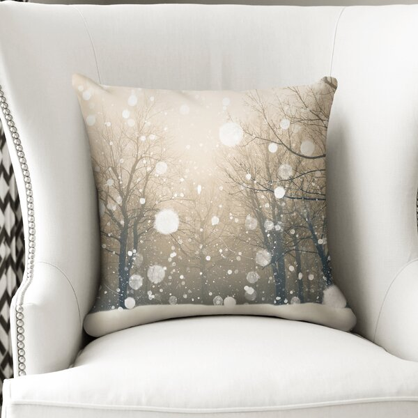 Winter Accent Pillow by KAVKA DESIGNS