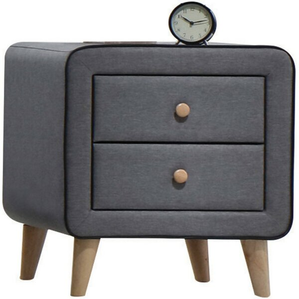 Bal Harbour 2 Drawer Nightstand By Latitude Run by Latitude Run New Design